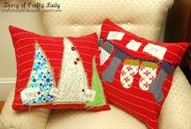 Christmas Cushion Covers / Inspiration for xmas cushion covers. #XmasCushions #XmasDecor #Xmas #Christmas