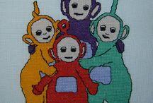 1 Kołderkowe kwadraciki / Hafty wykonane na kołderki dla chorych dzieciaków , na potrzeby projektu : http://kolderki.org/kolderki/ http://www.kolderki.org/forums/index.php