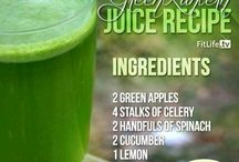 Juicing recipes / by Sherry Heddinghaus