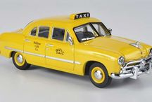 modelling cars -taxi