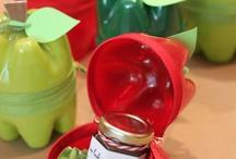 Plastic bottles creation