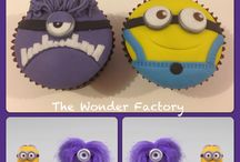 MINION NOVELTY CAKES / by Serina Hartwell - http://www.serinahartwell.com/