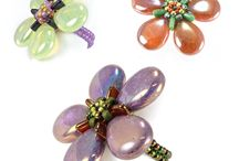 Czech Glass - Multi Hole Beads