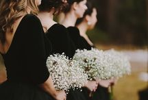/ black / colour inspiration / Don't be scared black can be a lovely and sophisticated wedding colour