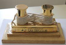 Golden Bollard! / Maritime Blogging!