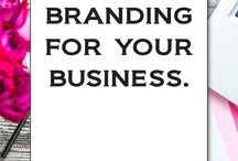 Branding Tips + Tutorials / Your brand speaks for your business. What does your brand say? branding tips, branding tools, color inspiration, creating a log, how to create a brand, branding board, mood board, brand inspiration, style boards, branding strategy, social media templates, entrepreneur, start up business, solorprenuer