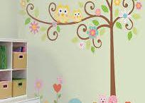 Woodland Nursery / Woodland Theme nursery decor inspiration