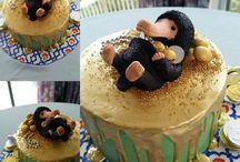 fantastic beast cake