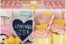 B's pink lemonade