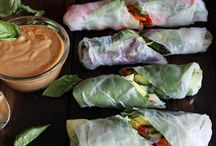 Gluten-Free Wraps / delicious & healthy gluten-free wrap ideas - some I have made while others I aspire to make soon...