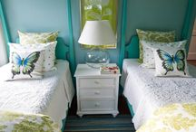Rooms - Girls / Ideas for decorating & storage in girls rooms