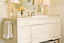 sideboard into vanity