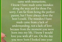 Words For My Boys