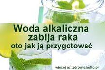 rak i woda alkaiczna