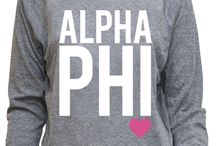 Alpha Phi / by Cathy McKee