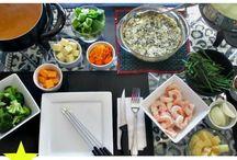 Fondue Cooking