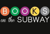 Books on the Subway and Bacon Press Books / Book drops on the NYC subways by Books on the Subway