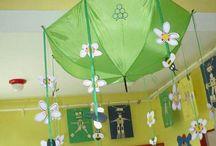 spring classroom decoration