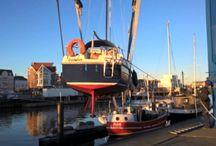Leben an Bord / Seit Januar 2016 wohne und lebe ich auf meinem 6,7 Meter langem Segelboot
