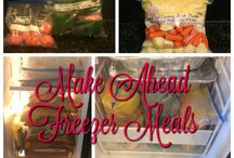 Freezer Meals - Meal Prepping