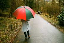 RAINY DAYS / There's something magical about a rainy day. Makes me happy deep in my heart.