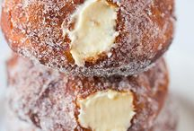 Doughnuts! / Deep fried, sugar coated and bursting with delicious fillings!