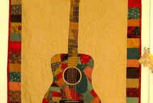 guitar shaped quilts and designs