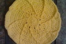 Free Crochet Wash Cloth Patterns / Free Crochet Wash cloth, dishcloth, or trivet patterns.