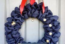 Patriotic wreaths / by Jennifer Fair Whisenhunt