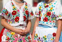 hungarian folk fashion