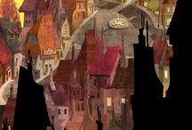 сказочные города