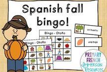 Spanish games / Games to play in Spanish Immersion classrooms!