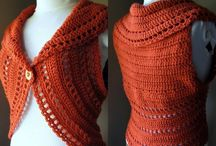 Crochet/knit top vest / by Froukje van Aalst