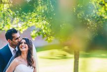 Real Weddings - Hayley and Umesh / Following their vibrant, traditional Hindu ceremony, Hayley and Umesh celebrated with an elegant summer ceremony and wedding breakfast at Combermere Abbey.