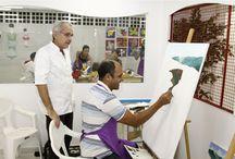 Centro Cultural Casa das Artes / Mais de 5 salas de aula com os melhores professores do mercado e espaço para exposições, onde iniciantes e profissionais podem mostrar seus talentos.