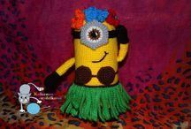 Maskotki (mascots) - kolorowe-szydelkowe.blogspot.com