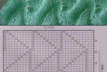 pletene vzorky
