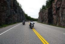 Motorocycling in Algoma Country