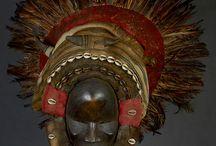 masques africains et belles sculptures