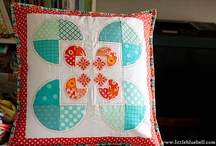 Pillow Swap / Ideas for making pillows for swapping! 16x16 or bigger! / by Tina D.