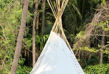 La Mangrove Goa: Chic Tipis & River Lounge / Boutique Eco-hotel Teepees and Restaurant in South-Goa, India.