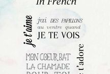 Some french thoughts...