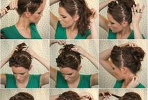 Hair Updos and Styles