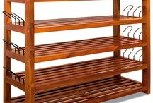 Wooden Storage Unit Rack Organizer Classic Home Furniture Shoes Cabinet Stand