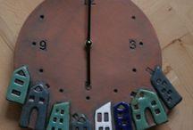 Ρολόγια απ οι πηλό