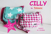 My cutie CILLY - pouchpattern in 2 sizes / My pattern CILLY in 2 sizes