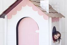 Cardboard Playhouses / Ideas to make a cardboard playhouse