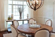 Dining rooms / by Barbara Wolf