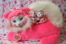 HASBRO's toys / Sweetie Kitties、kitty surprise、bear surpraise、pet surprais、moon dreamers、nosy bear、fairy tails、Raggedy Ann & Andy、Cabbage Patch Kids、Wuzzles