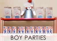 B's Birthday Party ideas